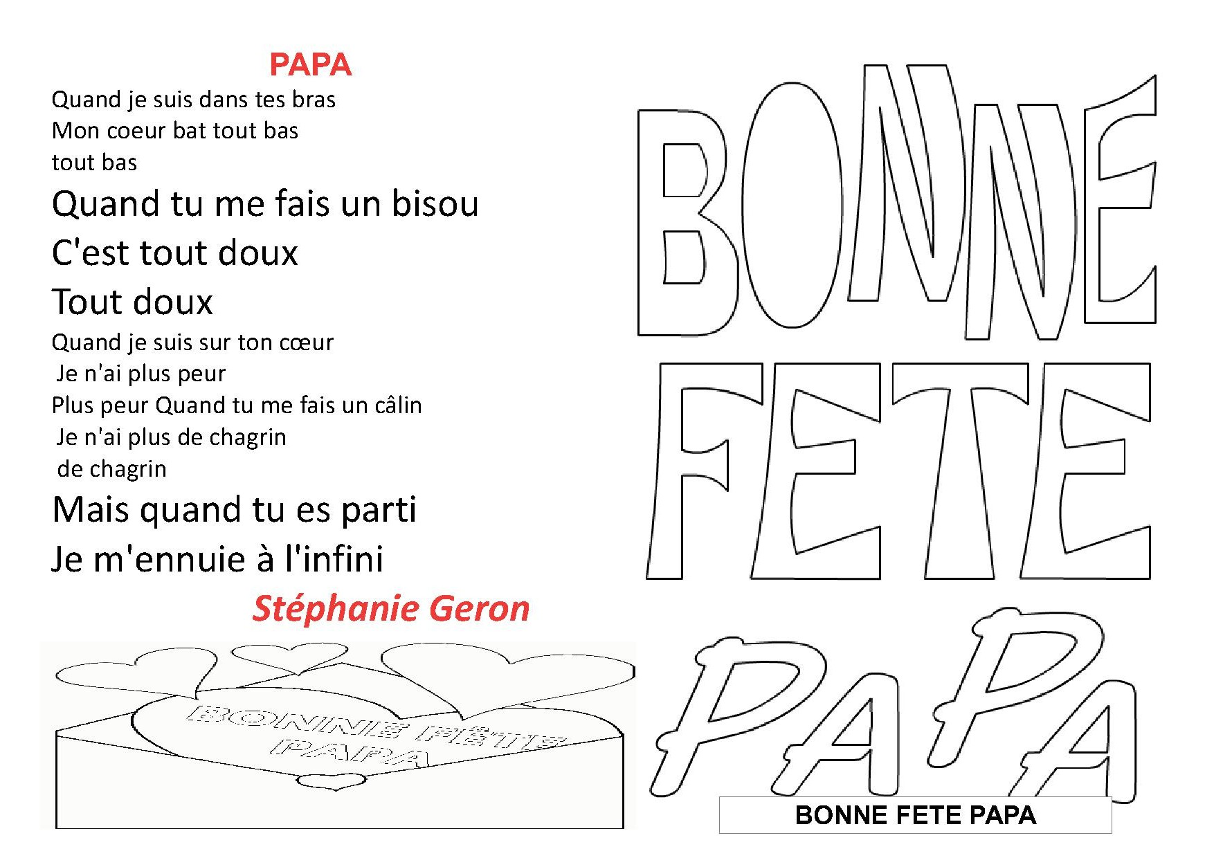 Preview - Poesie fete des peres ...